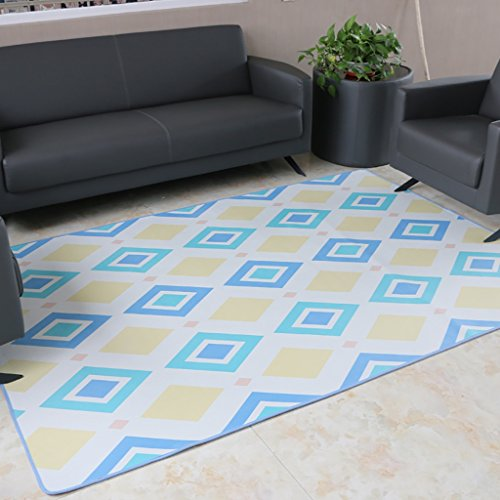 Creative Light Modern Geometric Home Rectangular Carpets Living Room Table Basse Chambre à Coucher Manteaux de Chevet (Taille : 140cm*200cm)