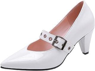 Slenderer Women Shoes Classic Mary Janes Pumps Kitten Heel