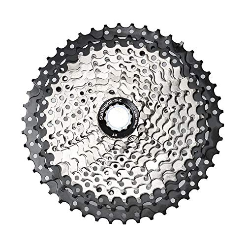 CLOUDH Mountainbike Cassette 11, 33 Velocidad 11-46T Bicicletas Volante, Conveniente para MTB, BMX Shimano (DEORE M7000, M8000, M9000 XTR) SRAM (X1, X01, NX, GX, XX1)
