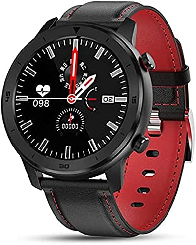 l b s DT78 Smart Watch Hombres IP68 Impermeable Full Touch Fit Smartwatch con Pulso Frecuencia Cardíaca Pulsera Inteligente Mujeres para Android Ios Phone (I)