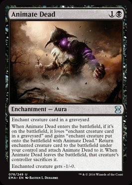 Magic The Gathering - Animate Dead (078/249) - Eternal Masters