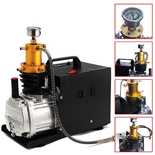 Elektrische Hochdruck Luft Kompressor Pumpe, PCP Luftkompressor-Luftgewehr Gewehr Inflator 220V 30 Mpa, für Automobil, Tauchflasche, industrielle Flasche
