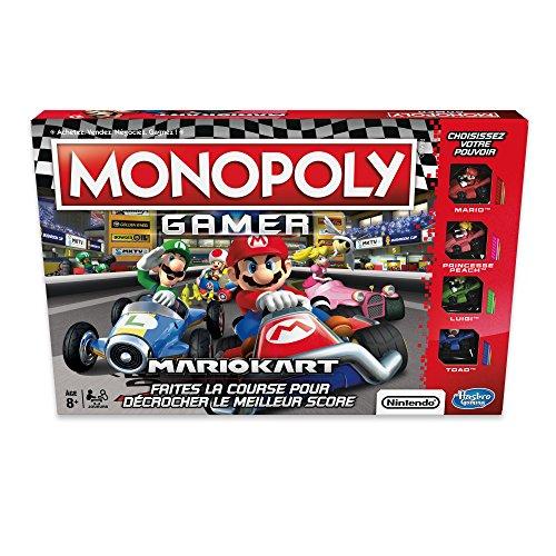 Monopoly – Jeu de Societe Gamer Mario Kart - Version Françai