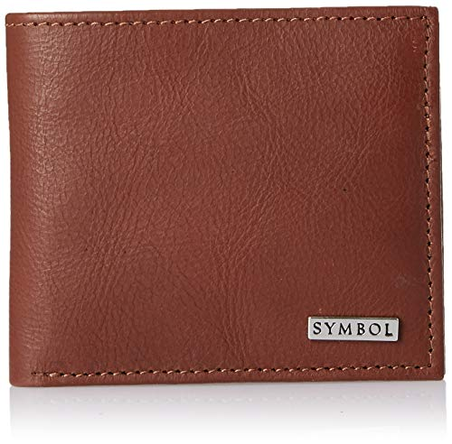 Amazon Brand - Symbol Brown Leather Men's Wallet (SY191230-300B)