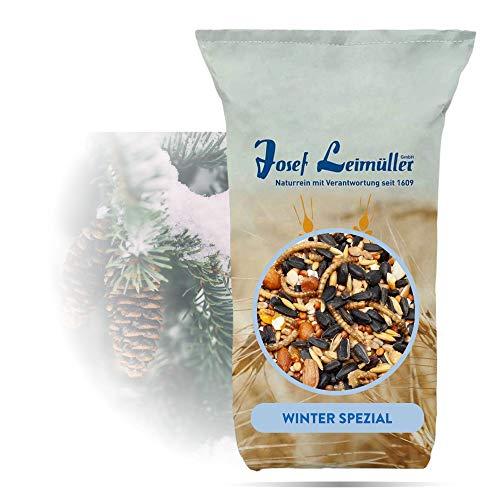 Premium Vogelfutter Wildvögel 25 Kg | Streufutter Winter Spezial | Mehlwürmer und Schwarze Sonnenblumenkerne für hohen Energiegehalt | Ambrosia Kontrolliert, Staubfrei & ohne Zusatzstoffe