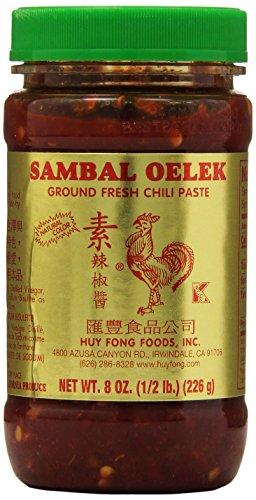 Huy Fong Sambal Oelek Chili Paste, 8 oz