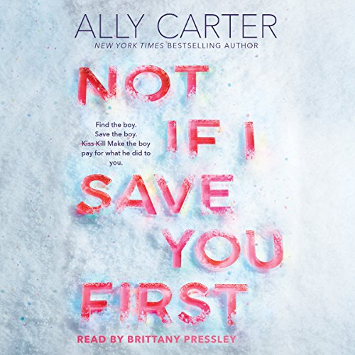 Not If I Save You First audiobook cover art