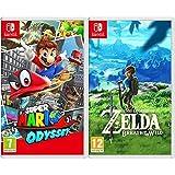 Super Mario Odyssey [Importación Inglesa] + The Legend Of Zelda: Breath Of The Wild - Edición Estándar