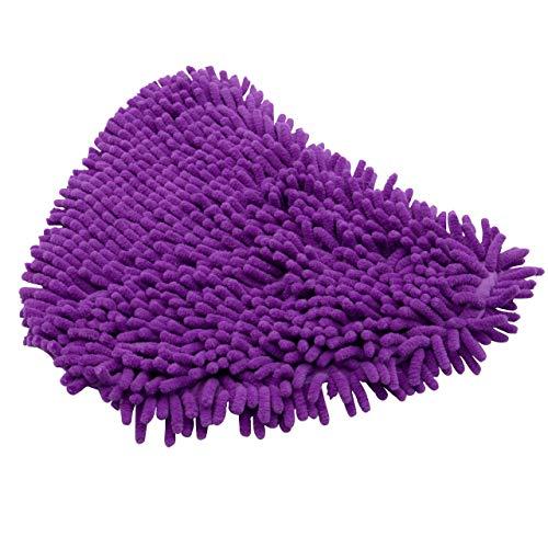 vhbw Wischtuch Fransentuch Mikrofaser wie Dirt Devil 0301003 Dampfreiniger, Dampfmop