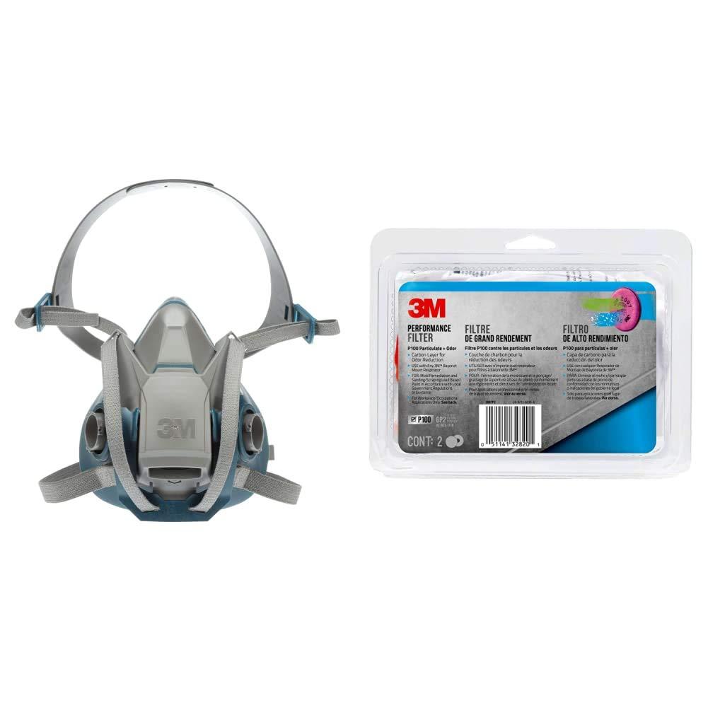 3M Rugged Comfort Cheap super special price Quick Latch Half Respirator Reusable wholesale Facepiece