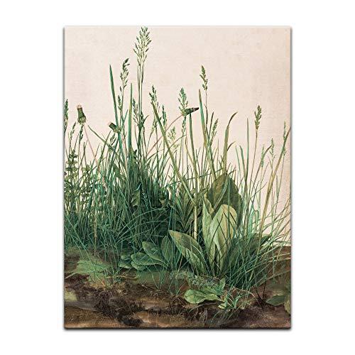 Kunstdruck Poster - Albrecht Dürer Das große Rasenstück 30x40 cm ca. A3 - Alte Meister Bild ohne Rahmen