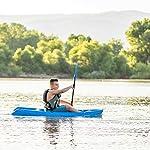 Lifetime Youth Wave Kayak (Paddle Included), Blue, 6' 18 Ergonomic Cockpit Design Enhances Balance and Motor Skills Molded finger handles on each side of the kayak Reverse chine for enhanced stability with swim-up step