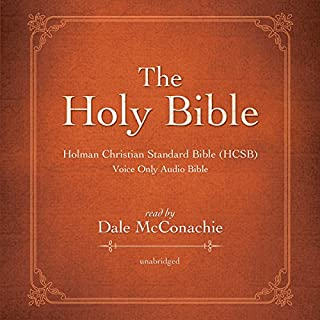 The Holy Bible: Holman Christian Standard Bible (HCSB) audiobook cover art
