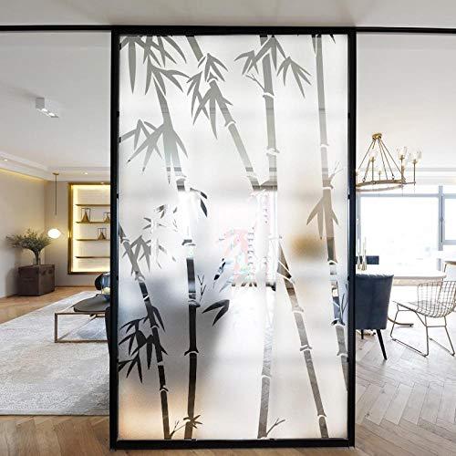 Wand - Aufkleber - Mattglas - Aufkleber Sonnenschutzglas - Tür - Fenster Film Drunk-Transparent Hohl Static 60cm * 120cm