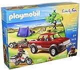 PLAYMOBIL 70116 - Juegos de construcción - Diversión Familiar Camioneta Aventura