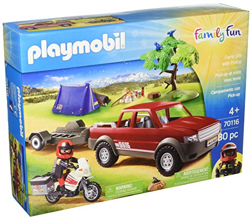 PLAYMOBIL Pick-Up Truck Adventure, 70116
