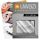 uwazi I 3X Glas-klare Schutzfolie für Microsoft Surface Laptop Bildschirmschutzfolie I Folie I Anti Fingerabdruck I Anti Kratzer