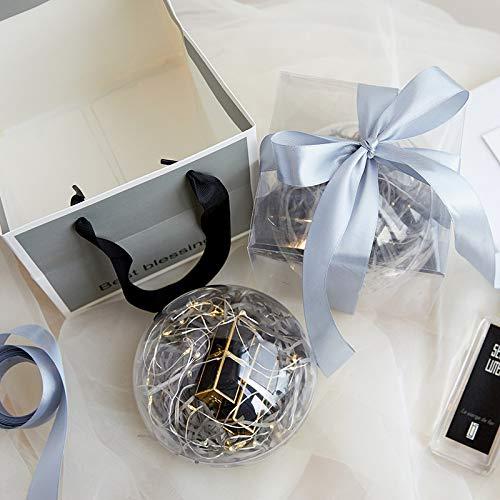KHKJHT Caja Exquisita esférica para niños, Familiares y Amigos, la Mejor Caja, Regalo de acción de Gracias, Regalo de San Valentín, Caja de Regalo Creativa de cumpleaños: Amazon.es: Hogar