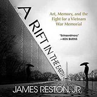 A Rift in the Earth     Art, Memory, and the Fight for a Vietnam War Memorial              Written by:                                                                                                                                 James Reston Jr.                               Narrated by:                                                                                                                                 Jeff Cummings                      Length: 6 hrs and 52 mins     Not rated yet     Overall 0.0