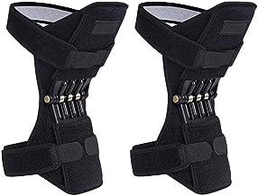 Nishore 1 Par Protetor de Joelho Elevadores de Força Almofadas de Suporte Conjunto com Rebotes Poderosos Mola Força Velha ...