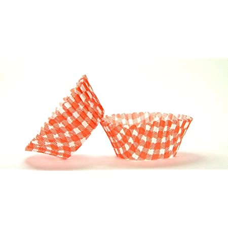 500pc Gingham Design Hot Pink Standard Size Cupcake Baking Cups Liners Wrappers