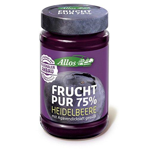 Allos Heidelbeer-Fruchtaufstrich