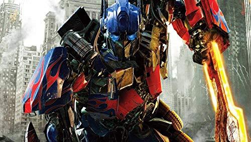 ZPDWT Transformers: Dark of The Moon Movie Posters Puzzle de 1000 Piezas para Adultos la Mejor Juegos de Habilidades Familiares Bricolaje, Regalo de cumpleaños de Navidad Ideal 75*50cm