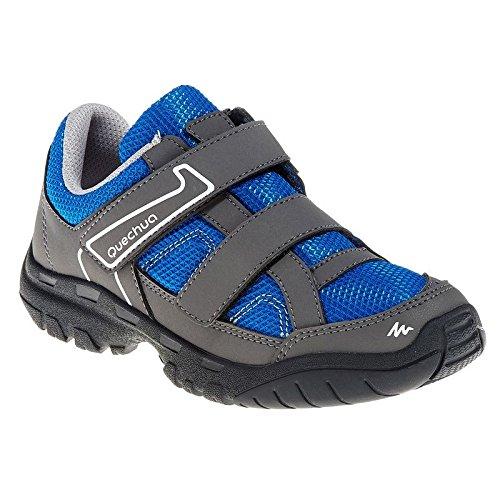 Quechua Arpenaz 50 Ribtab Shoes, Junior 11.5 UK (Blue)
