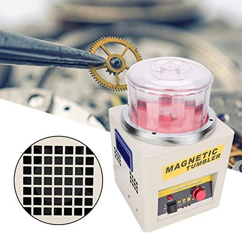 Pulidora de joyería magnética resistente al desgaste, desbarbado, pulidora, acabadora(European standard 220V)