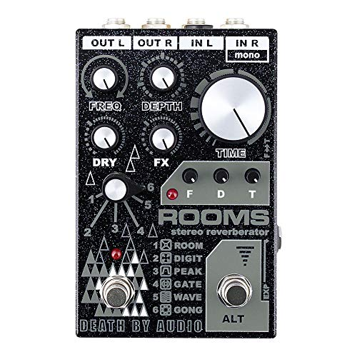 DEATH BY AUDIO ROOMS ステレオリバーブ 【正規輸入品】