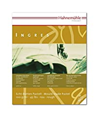 Hahnemuhle Ingres Pad - 16 1/2'' x 22'', Assorted, 20 Sheets Assorted