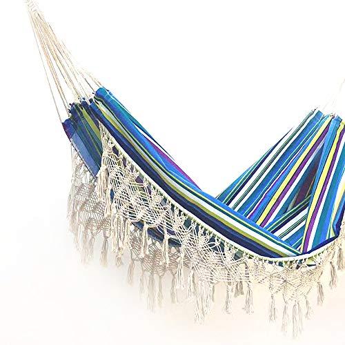 Tomyeer - Hamaca con hamaca de lujo, hecha a mano, diseño de columpio