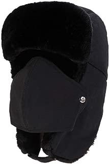 Unisex Thick Fleece Balaclava Hats Windproof Sun Protection Snowboarding Climbing Winter Bomber Hat