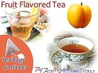 【本格】紅茶 ほんのり香るアプリコット・フルーツ・フレーバード・ティーバッグ 40個