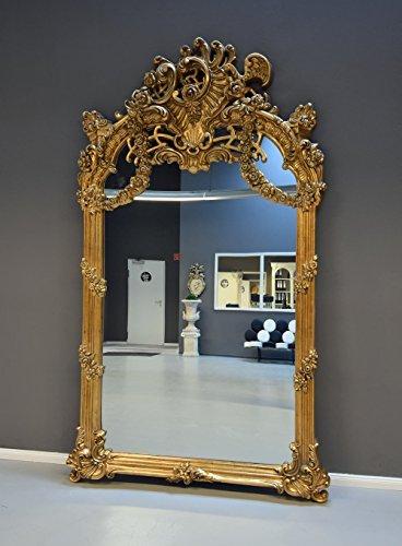 Gigantischer Hallenspiegel Barock Spiegel Gold Wandspiegel XXL sax015 Palazzo Exklusiv