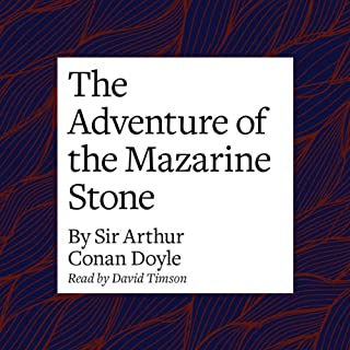 The Adventure of the Mazarin Stone cover art