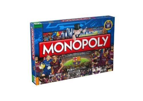 Dispersa Monopoly FC Barcelona - Juego de Mesa