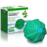 Waschklar® Waschball mit Bio-Keramik   Unfassbar saubere Wäsche OHNE Waschmittel - Nachhaltig & zero waste, Öko Waschkugel für Waschmaschine - Nachhaltige Produkte