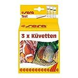Sera Küvetten - Set de 3 Piezas para Prueba de Agua o Prueba de Agua