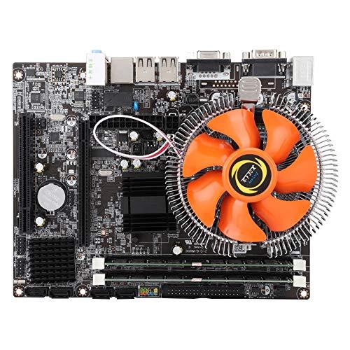 4-Kern-Desktop-Motherboard DDR3 1333/1066-Speicher für Intel E / L5430 mit Prozessor, Desktop-Computer-Mainboard mit CPU-Steckbrücke und 2 * 2G-Speichermodul für Intel G41 Integrated Chip Graphics