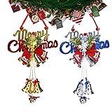 Feelava Merry Christmas Bell Pendants