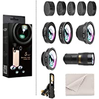 Hizek 5 in 1 Phone Lens kit