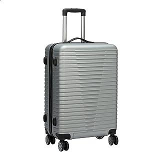 JB Luggage Trolley Travel Bag, Size 24 - Silver