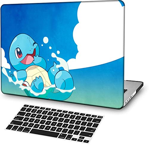 MingCaiFS Laptop Case for MacBook Pro 13' Retina (2020,with Touch Bar),Plastic Pattern Ultra Slim Light Hard Case Keyboard Cover (Model:A2289/A2251),Cartoon A 122