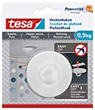 tesa 77781 Deckenhaken Tapeten & Putz-Selbstklebender ideal zur Befestigung von Deko-Objekten-hält...