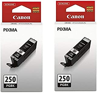 2 X Canon (PGI-250) Black Inks in Retail Packaging