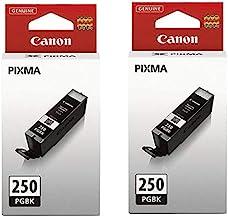 2 X Canon (PGI-250) Black Inks in Retail Packaging