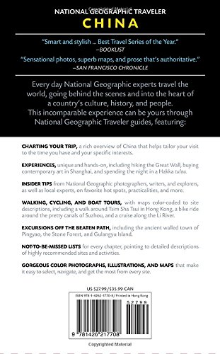 China. National Geographic Traveler - 4th Edition [Idioma Inglés]