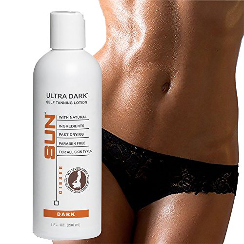 Self Tanner Instant Ultra Dark 8 fl oz, Sunless Tanning Lotion and Self Bronzer | Sunless Bronzing Cream | Instant, Quick-Drying, Streak-Free, Fair To Medium Skin Tones (Packaging May Very)
