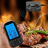 ZHIRCEKE LCD backlight food Grill <span class='highlight'><span class='highlight'>Thermometer</span></span> <span class='highlight'>BBQ</span> Cooking <span class='highlight'><span class='highlight'>Thermometer</span></span>, Monitor Alarm Cooking <span class='highlight'><span class='highlight'>Thermometer</span></span> Barbecue Oven Kitchen